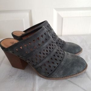 Style & Co Gray Mules Size 7
